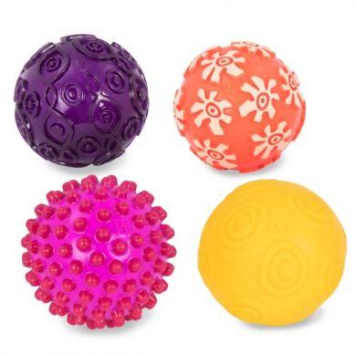B.Toys - Zestaw 4 Piłek Sensorycznych Oddballs