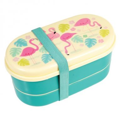 Rex - Dwupoziomowy Lunchbox Flamingo
