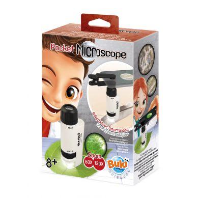 BUKI - Mikroskop kieszonkowy 8+