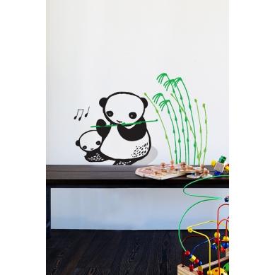 Wee Gallery Naklejki Ścienne Panda
