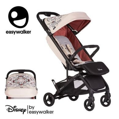 Easywalker - DISNEY by Easywalker Buggy GO Kompaktowy wózek spacerowy ze zintegrowaną torbą transportową Minnie Ornament