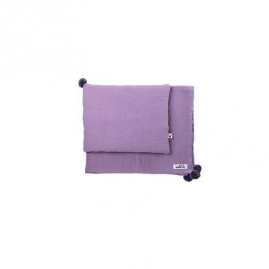 Malomi Kids - Zestaw Muślinowy Purple/Graphite