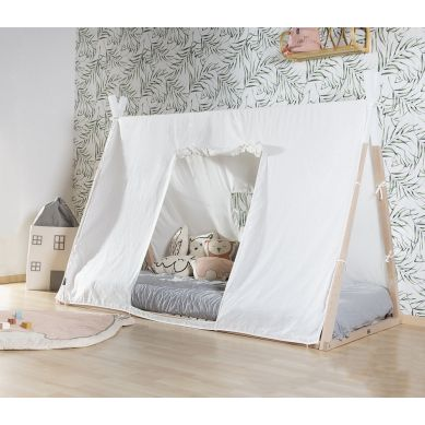 Childhome - Poszycie do Łóżka Tipi 90 x 200 cm White