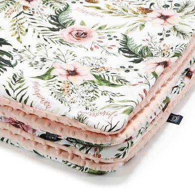 La Millou - Kocyk Średniaka Wild Blossom Powder Pink