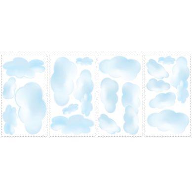 RoomMates - Naklejki Ścienne Wielokrotnego Użytku Chmury