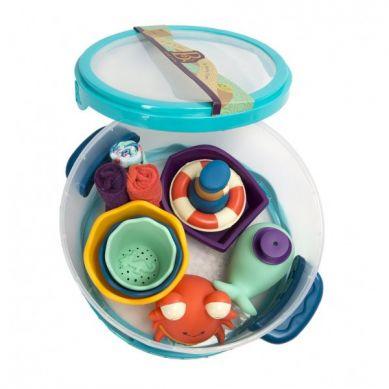 B. Toys - Zestaw dla Niemowląt do Kąpieli Niebieski