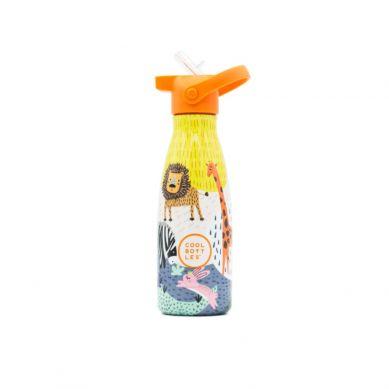 Cool Bottles - Butelka Termiczna Kids 260 ml Triple Cool Savannah Kingdom