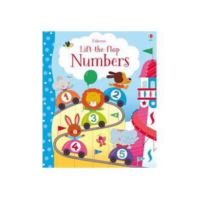 Wydawnictwo Usborne Publishing - Lift-the-flap Numbers