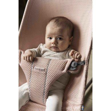 BabyBjorn - Leżaczek Bliss Mesh Perłowy Róż