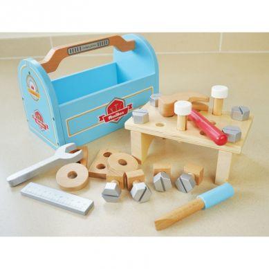Indigo Jamm - Drewniana skrzynka z narzędziami