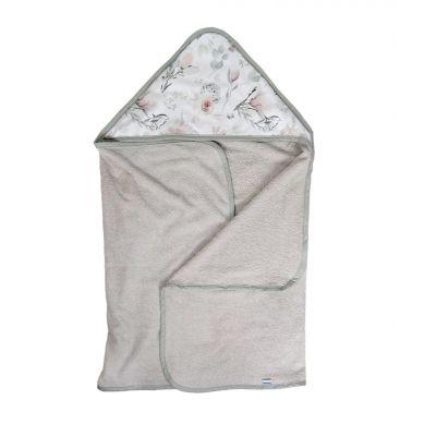 Muzpony - Duży Ręcznik Kąpielowy z Kapturem Magnolia