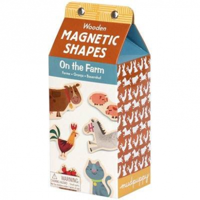 Mudpuppy Magnesy w Pudełku Farma