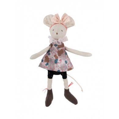 Moulin Roty - Pluszowa Myszka Wróżka Beżowa
