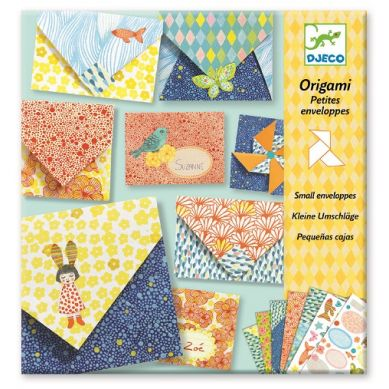 Djeco - Zestaw Origami Małe Koperty