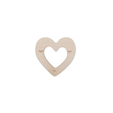 Wooden Story - Drewniany Gryzak Heart