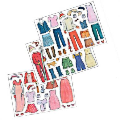 Egmont Toys - Układanka Magnetyczna Fashion Moda