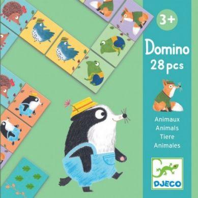 Djeco - Domino Zwierzątka 3+
