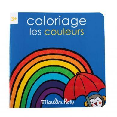 Moulin Roty - Kolorowanka  Kolory 20 Stron