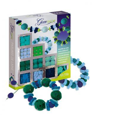 Sento Sphere - Koraliki Filcowe Zielono-niebieskie