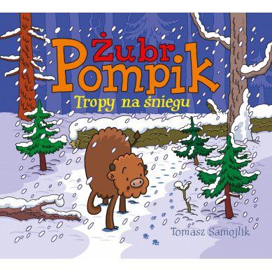 Wydawnictwo Media Rodzina - Żubr Pompik. Tropy na Śniegu
