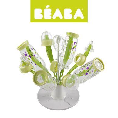 Beaba - Składana Suszarka do Butelek i Smoczków Kwiat Neon