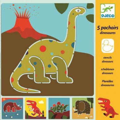 Djeco - Szablony Zwierzęta Prehistoryczne
