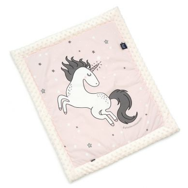 La Millou - Kocyk Niemowlaka 65x75 cm by Maja Bohosiewicz One Unicorn Sugar Bebe Ecru