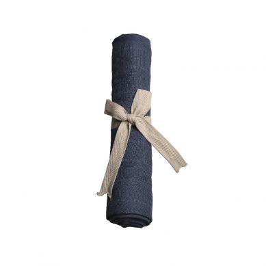 Filibabba - Pieluszka Muślinowa 65 x 65 cm Dark Blue