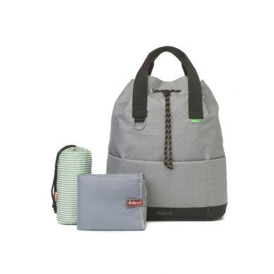 Babymel - Eco Plecak dla Mamy Tap N Tail Grey