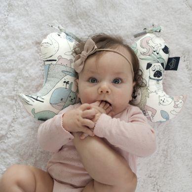 La Millou - Angel's Wings Velvet Collection I'm Rainbow Baby Rafaello