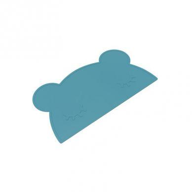 We Might Be Tiny -Silikonowa Podkładka Miś Blue Dusk