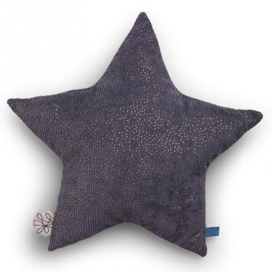 Picca LouLou - Poduszka Dekoracyjna Sparkle Star Grey 25 cm