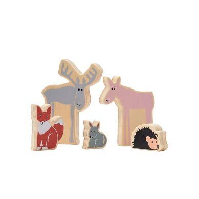 Kids Concept - Edvin Drewniane Zwierzęta