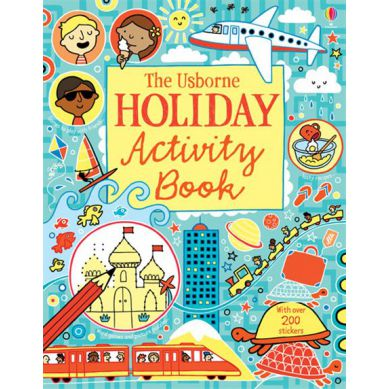 Wydawnictwo Usborne Publishing - Holiday Activity Book