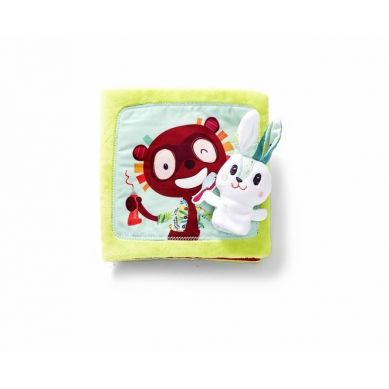 Lilliputiens - Książeczka Wielofunkcyjna Little Rabbit Dentist