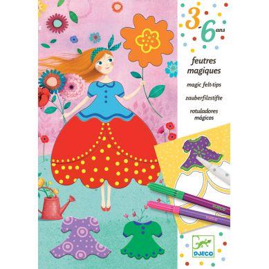 Djeco - Zestaw Artystyczny Preety Dresses
