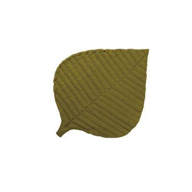 Toddlekind - Mata do Zabawy z Bawełny Organicznej w Kształcie Liścia Leaf Mat Sand Castle