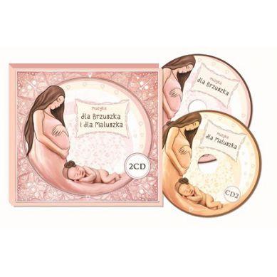 Wydawnictwo Kidimax - Płyta CD Muzyka dla Brzuszka i Maluszka
