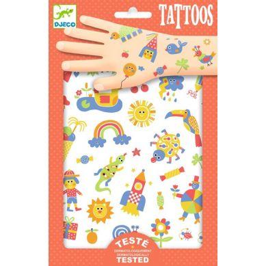 Djeco - Tatuaże Słodziaki