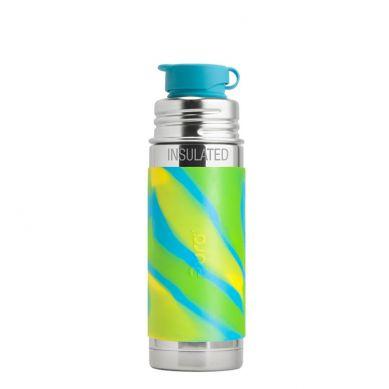 Pura - Termobutelka Pura Kiki Błękitna Swirl 260 ml