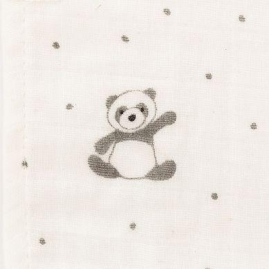 Jellycat - Muślinowy Otulacz Panda Harry