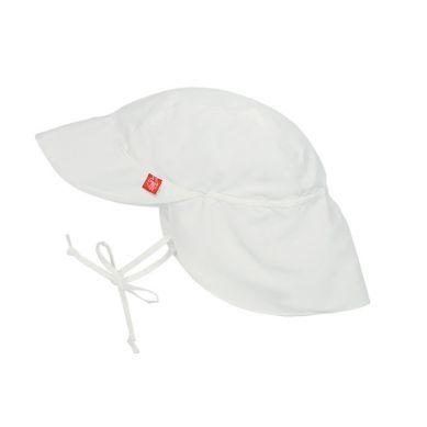 Lassig - Czapka z Daszkiem UV 50+ White 0-6m