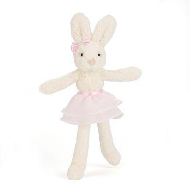 Jellycat - Przytulanka Króliczek Baletnica Cream and Pink