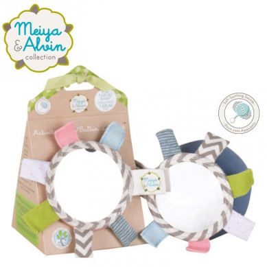 Meiya & Alvin - Alvin Elephant Active Ball with Mirror and Rattle