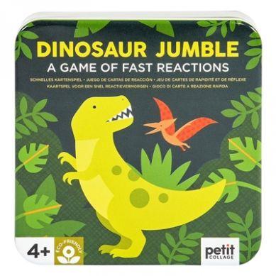 Petit Collage - Gra Znajdowanie Obrazków Dinosaur Jumble 4+