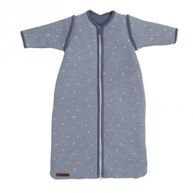 Little Dutch - Śpiworek z Odpinanymi Rękawkami 110cm Little Stars Blue