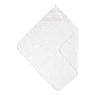 Bebe-Jou -  Ręcznik z Kapturkiem Hearts 85x75cm