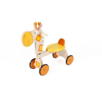 Scratch - Jeździk 4 kołowy Żyrafa