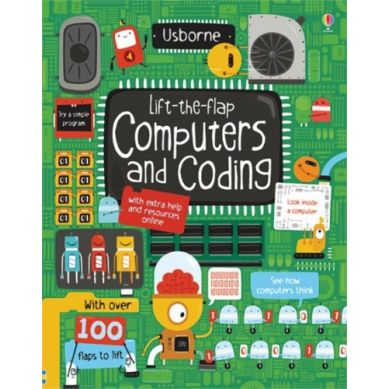 Wydawnictwo Usborne Publishing - Lift the flap computers & coding