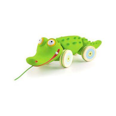 Djeco - Zabawka do Ciągnięcia Krokodyl